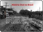 hist ria oral no brasil