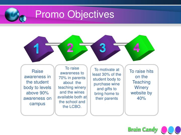 Promo Objectives