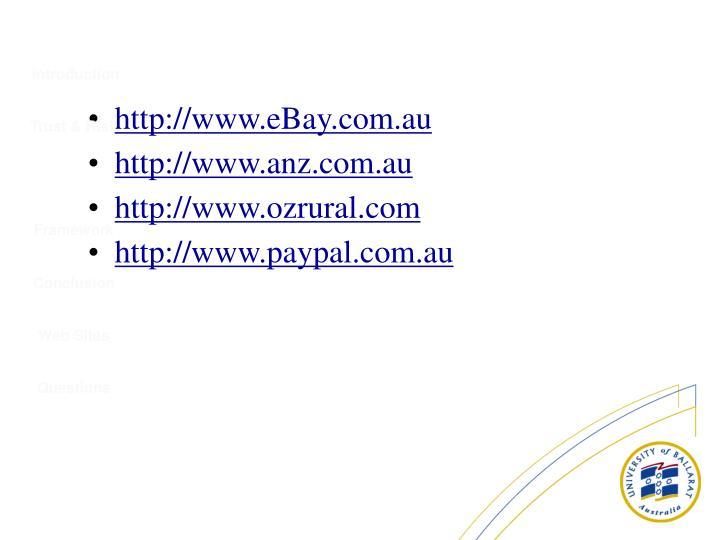 http://www.eBay.com.au