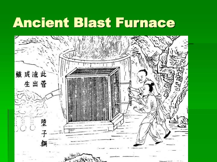 Ancient Blast Furnace