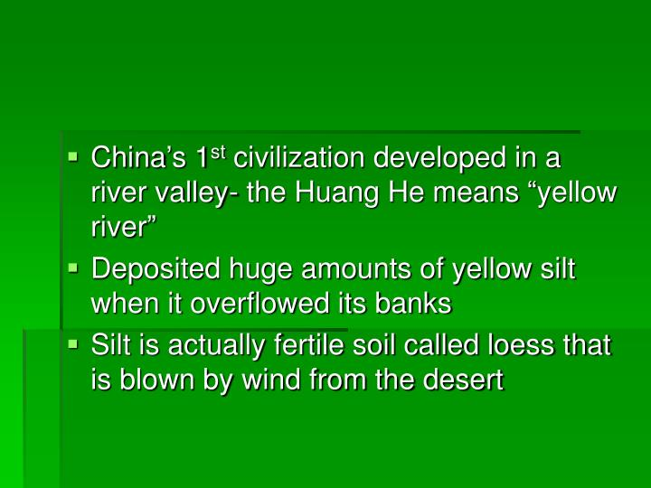 China's 1