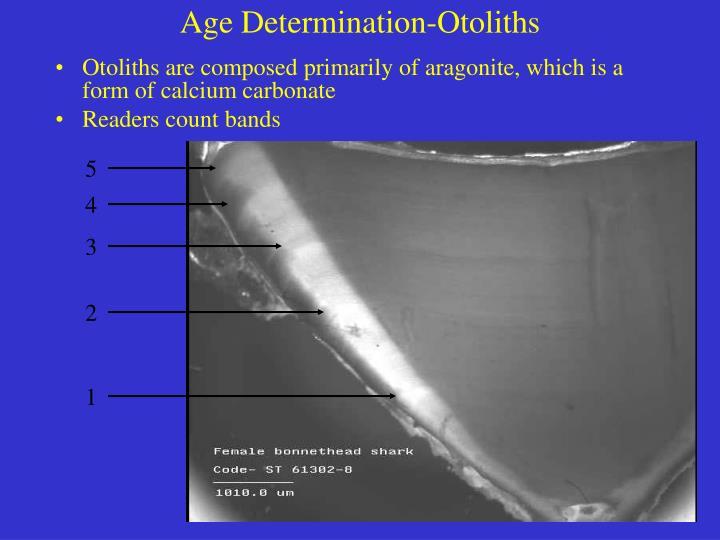 Age Determination-Otoliths