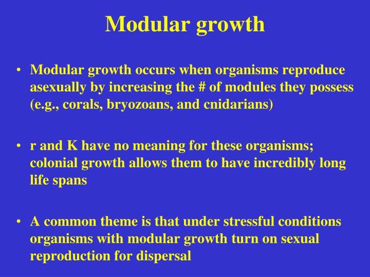 Modular growth