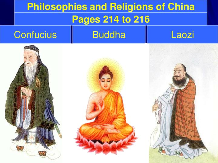 Philosophies and Religions of China