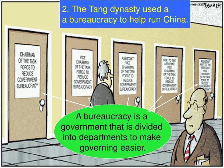 2. The Tang dynasty used a