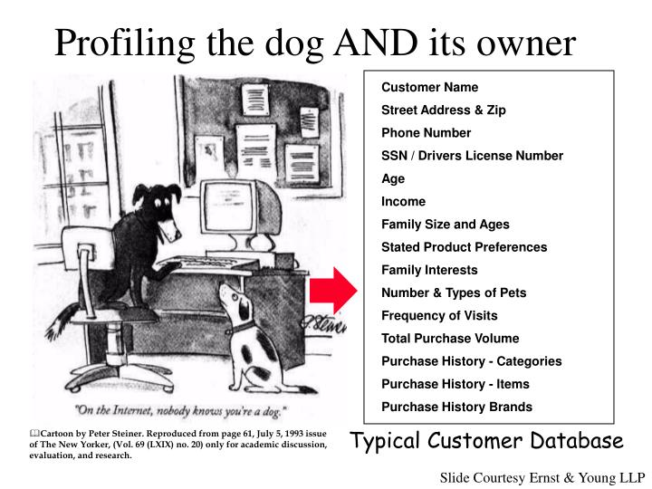 Profiling the dog AND its owner