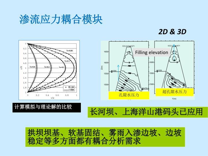 渗流应力耦合模块