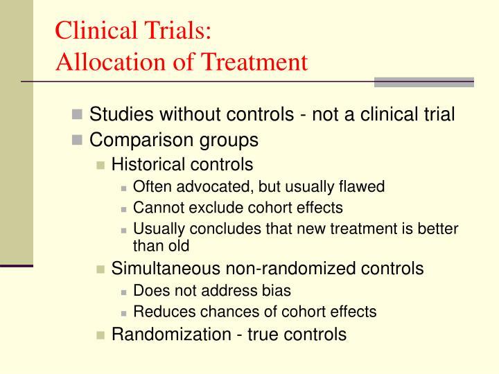 Clinical Trials: