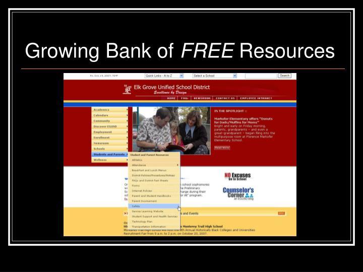 Growing Bank of