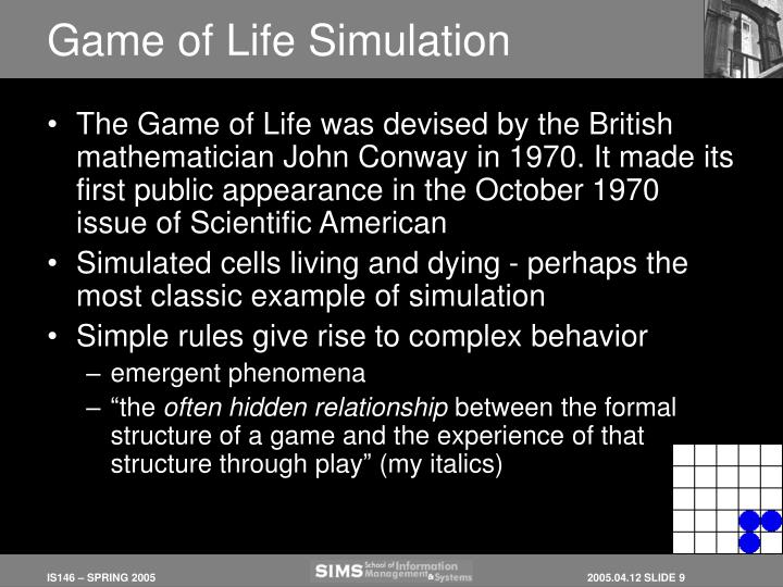 Game of Life Simulation