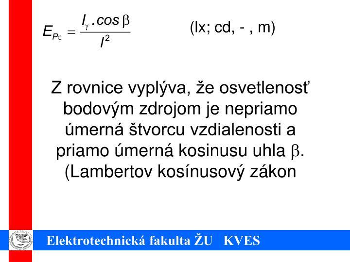 (lx; cd, - , m)