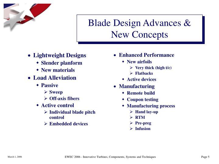 Lightweight Designs