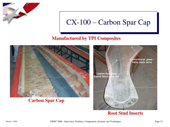 CX-100 – Carbon Spar Cap