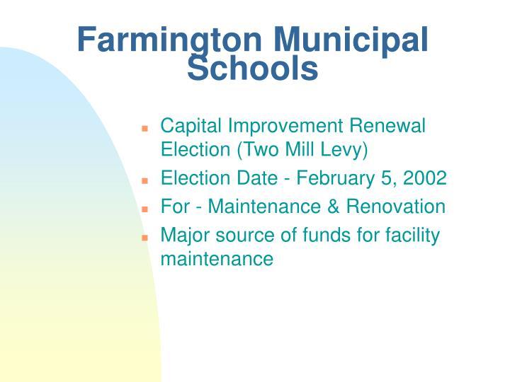 Farmington Municipal Schools