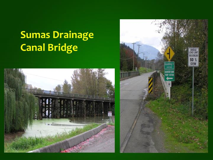 Sumas Drainage Canal Bridge