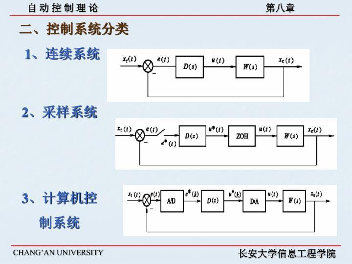 二、控制系统分类