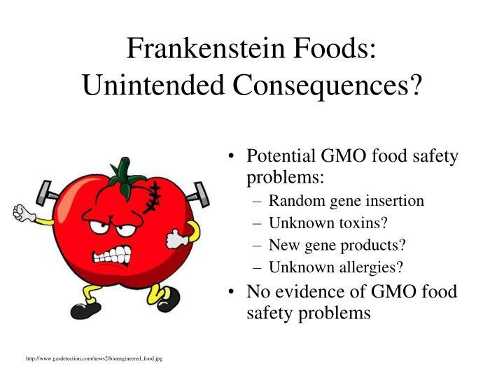 Frankenstein Foods: