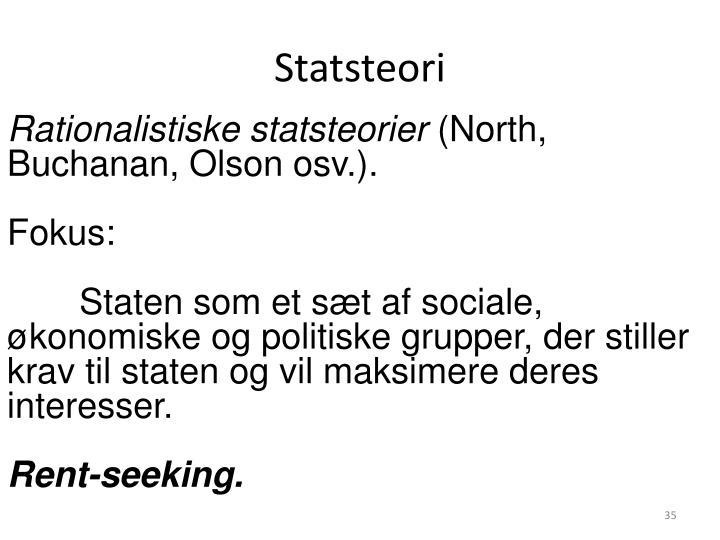 Statsteori