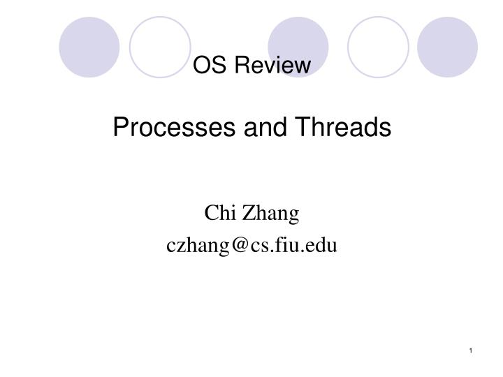 OS Review
