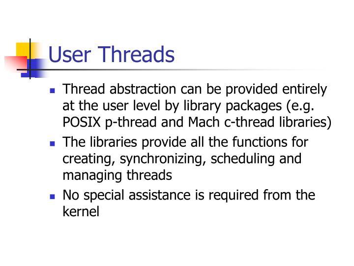 User Threads