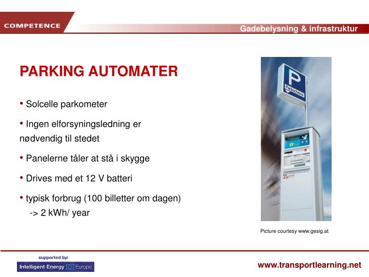PARKING AUTOMATER