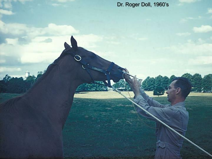 Dr. Roger Doll, 1960's