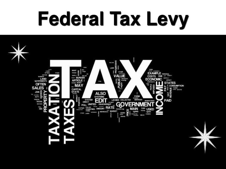 Federal Tax Levy