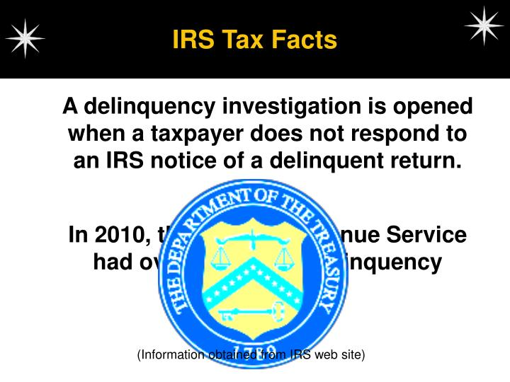 IRS Tax Facts