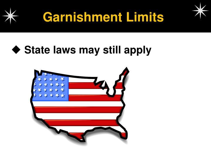 Garnishment Limits