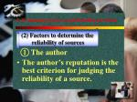 1 evaluating sources and reading for ideas1