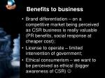 benefits to business1