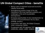 un global compact cities benefits