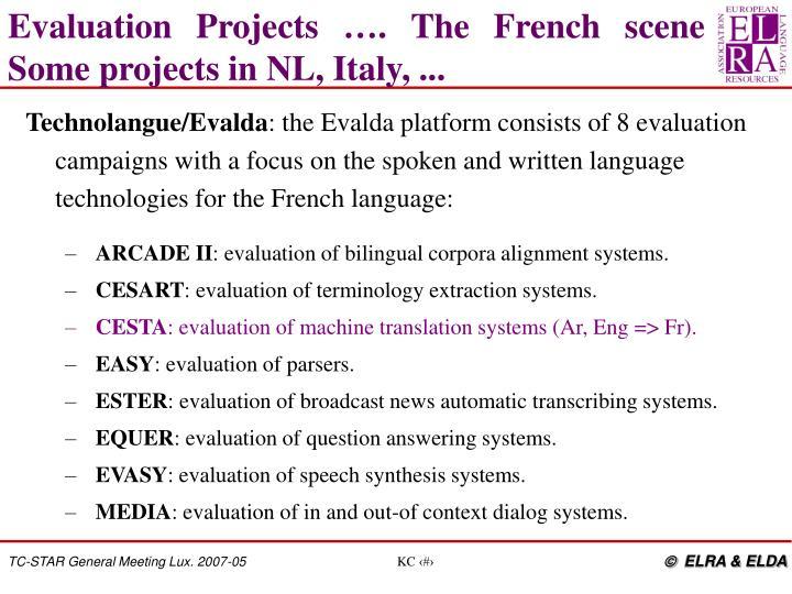 Technolangue/Evalda