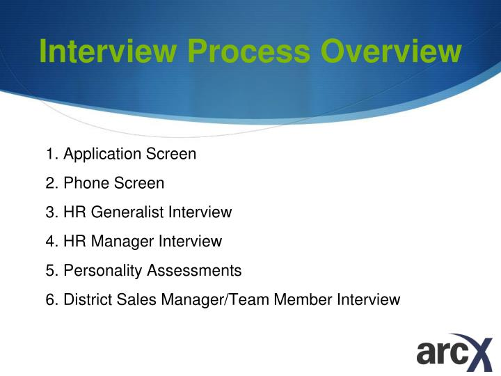 Interview Process Overview
