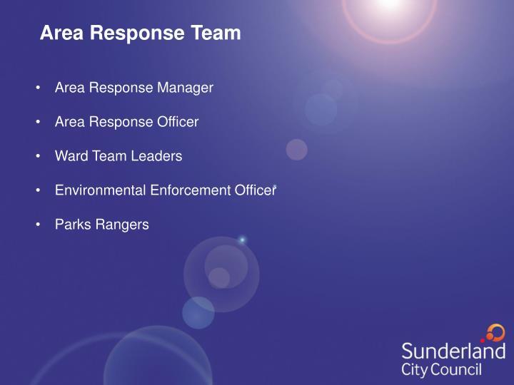 Area Response Team