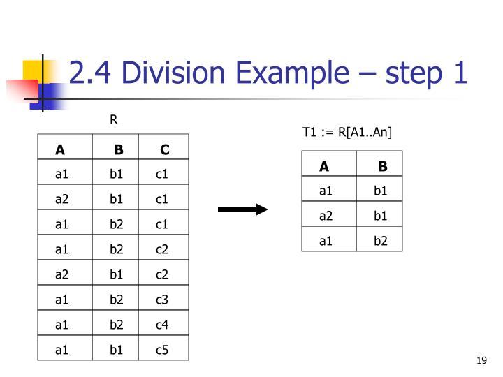 T1 := R[A1..An]