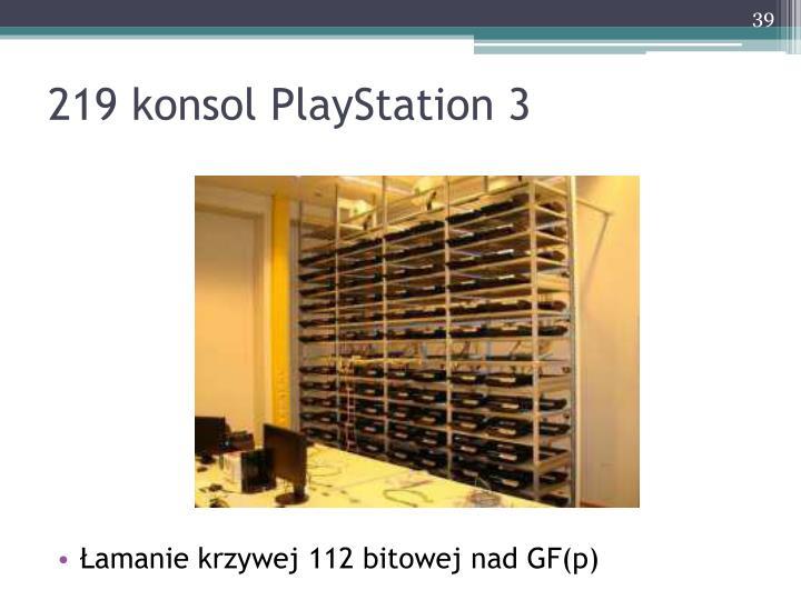 219 konsol PlayStation 3