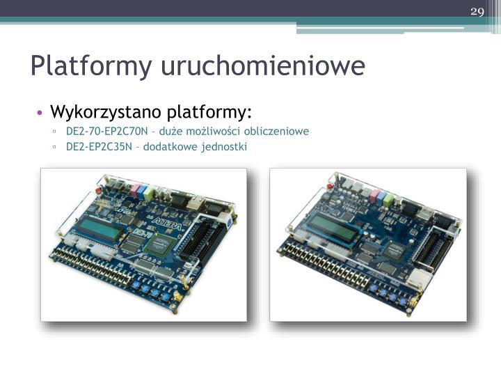 Platformy uruchomieniowe