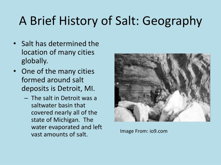A Brief History of Salt: Geography