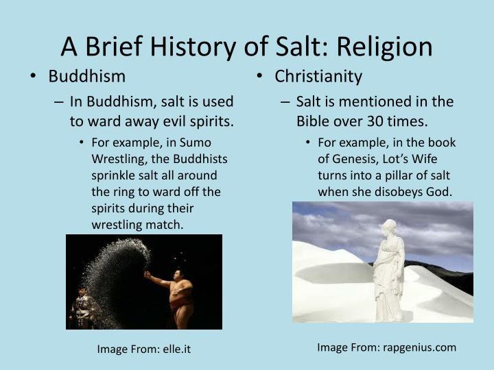 A Brief History of Salt: Religion