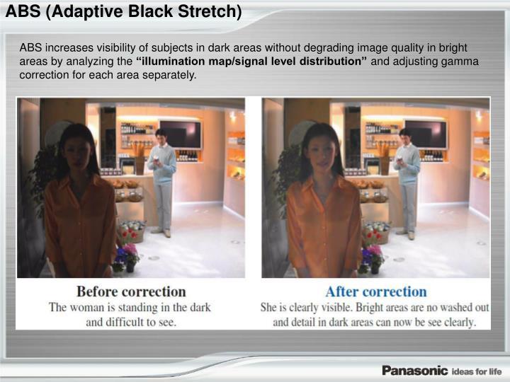 ABS (Adaptive Black Stretch)