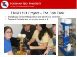 engr 121 project the fish tank