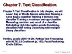 chapter 7 text classification