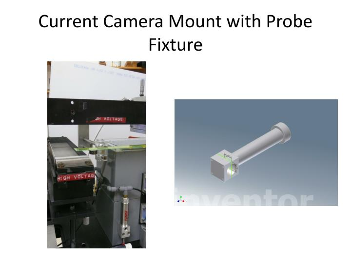 Current Camera Mount with Probe Fixture