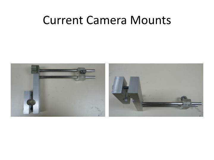Current Camera Mounts