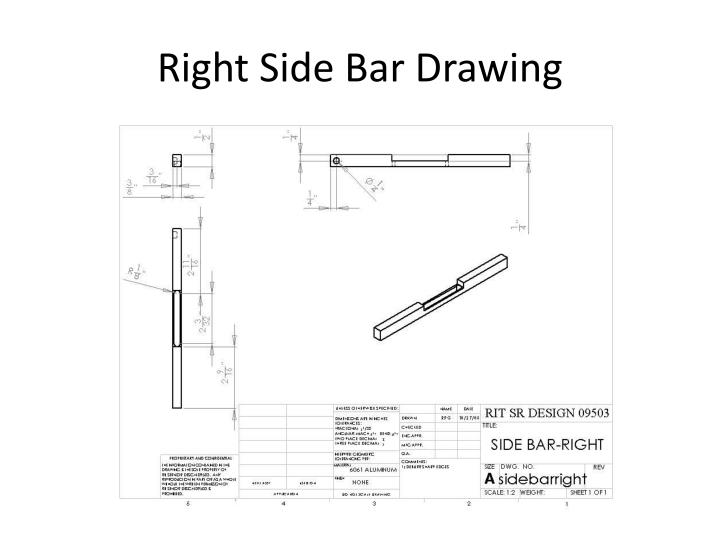 Right Side Bar Drawing