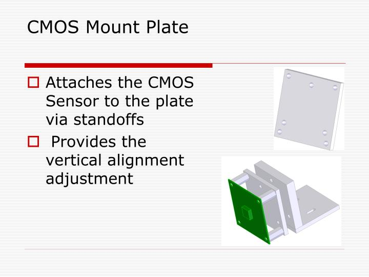 CMOS Mount Plate