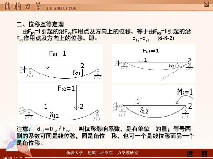 二、位移互等定理