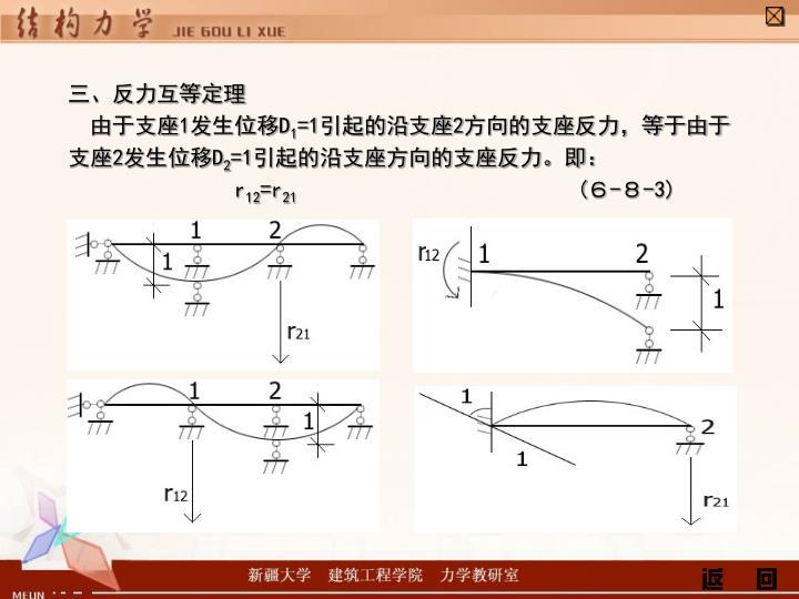 三、反力互等定理
