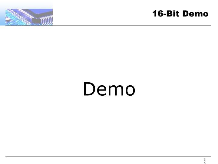 16-Bit Demo